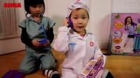 小猪佩奇看病的医院玩具故事 44_高清