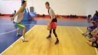 街球教授潇洒篮球斗牛视频走一波1 实战过人技巧