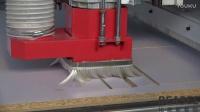 比雅斯加工中心排钻视频 数控开料打孔排钻开料机 红外线激光侧孔机 封边机