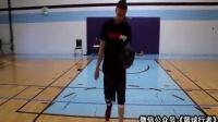篮球课 街球教授教你高逼格假动作背身传球 篮球教学视频1 篮球教学运球