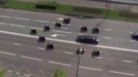 俄罗斯总统普京的上班之路