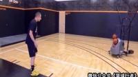 篮球课 三个简单致命的内线得分动作 篮球教学视频1 篮球教学运球