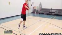 篮球课 高位接球后的四种突破进攻手段 篮球教学视频1 篮球教学运球