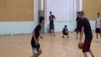 街球教授路人篮球solo局1加农贝克篮球教学