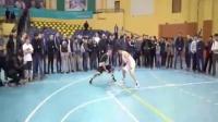 街球教授潇洒篮球斗牛视频走一波1篮球技巧