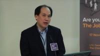20121117 香港中文大學商學院 就業論壇:「你是該工作的適合人選嗎?」- 第一部份