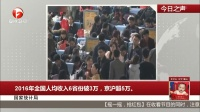 2016年全国人均收入6省份破3万,京沪超5万。 每日新闻报 20170221 高清版