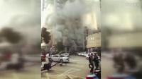 江西一酒店发生火灾 多人被困有人受伤