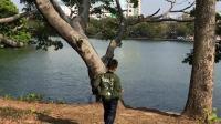 2017.2.6 豐湖書院湖邊扔石子