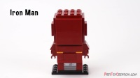 41590 积木砖家乐高Lego Marvel BrickHeadz_ IRON MAN Speed Build