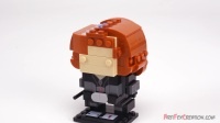 41591 积木砖家乐高Lego Marvel BrickHeadz_ BLACK WIDOW Speed Build