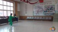 濟寧市內家拳名師李東海體先生得意弟子張建立演練太極拳夏