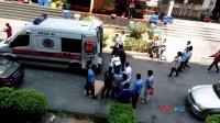 【拍客】深圳一女子晕倒街头120紧急抢救