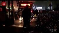 北京上千辆共享单车围堵公交站台