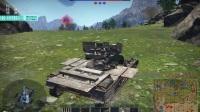极光耀斑【战争雷霆】一号防空坦克A型