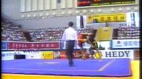 2001年第九届全运会武术散打比赛 第01单元 009 男子56kg 赵国全(北京)VS 唐飞龙(陕西)