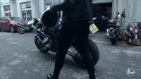 热血美女极速飙车超越高铁 酷到让人跪着唱征服 344