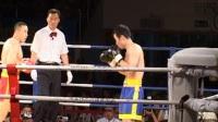 2004年中国功夫VS日本极真派职业空手道争霸赛 男子75kg 宝力高(中国)VS 东海林亮介(日本)