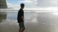 奥克兰西区著名海滩 Piha beach