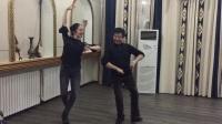 马斌和迈尔哈吧老师跳的双人舞2