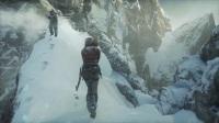 古墓丽影电影级特效画面Rise of the Tomb Raider开头这关就过不去