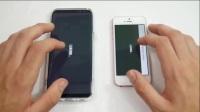 三星galaxy S8 Plus对阵iPhone SE游戏性能对比,谁更胜一筹?