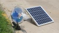 10W太阳能风扇