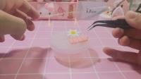『想恋奶油胶盒子』用上个视频剩下的挤的