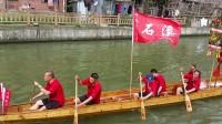 2017年4月30日 广州河南石溪村新龙船落水庆典