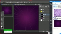 PS教程:新手必学,photoshop自制简单的放射状背景(下)