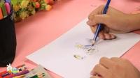 儿童简笔画益智成语 不耻下问 92