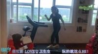 经期美妞酷耍跑步机热舞,玩的就这么HI是LOVE U系列卫生巾_1