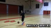 篮球技巧教学:凯里欧文快速后转身 篮球技巧