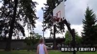 路人有眼不识泰山单挑街球教授,街头篮球斗牛视频1篮球教学视频