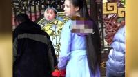 八卦:沈梦辰新戏片场照曝光 网友:照着baby整的