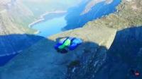 4K高清航拍挪威奇石,奇迹石布道台巨人之舌,震撼壮美
