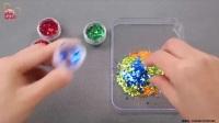 亲子手工制作西瓜 泡沫粘土玩具试玩 233