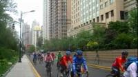 2017年迷人的哈爾濱之夏青年自行車濕地巡游