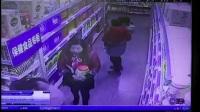 湘乡某超市监控下的女蟊贼2