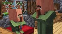 Minecraft动画--村民和女巫的生活【1】