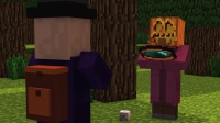 Minecraft动画--村民和女巫的生活【2】
