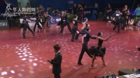 2017年中国体育舞蹈公开系列赛(上海站)青年组L预赛桑巴2