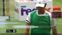 儒大耳带你看2017年ATP哈雷站男子单打R2费德勒vsM.兹维列夫