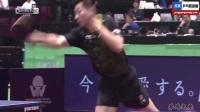 2017日本乒乓球公开赛 马龙因一球失误竟然自扇耳光!真是冲动的惩罚