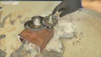 牛人用废弃齿轮做成这个,切断钢筋都不费力!