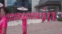 福田区旗袍分会周末欢乐海岸旗袍舞蹈《烟花三月下扬州》