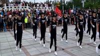 五国城曳步舞团队江边公园展演