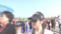创文明城市,做文明市民---黄骅市文星湖公园千人旗袍秀