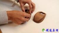 男子嫌塑料鼠标不好用, 自己动手做个实木的