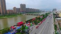 【拍客】仙游县东门乌石宫2017年龙舟盛会航拍掠影